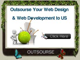 Outsource your web design and web development works, seo works
